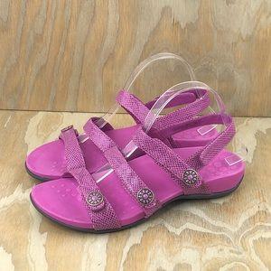 VIONIC Orthaheel Triple Strap Sandals